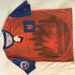 Orange New York Mets Dri- Fit Shirt Men's NWT